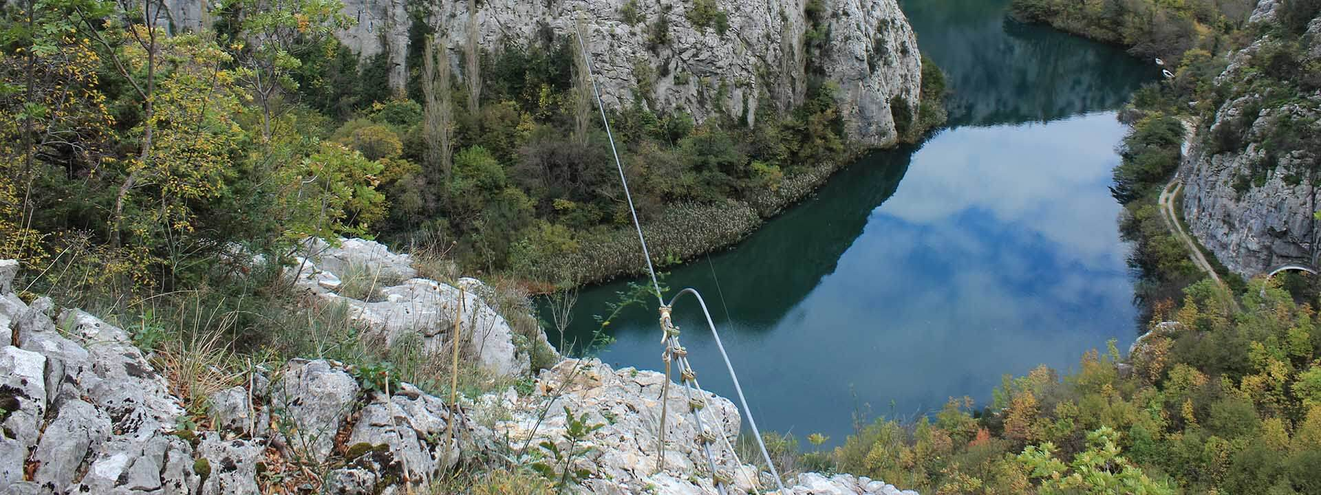 Omis Zip Line Daily TM Adventure Slide 3